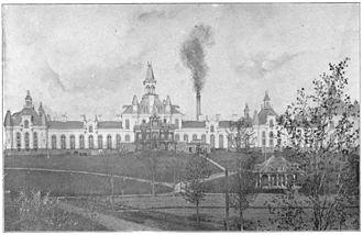 Elmira Correctional Facility - Elmira Reformatory, circa 1897