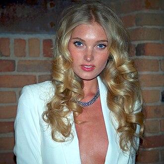 Elsa Hosk - Image: Elsa Anna Sofie Hosk cropped