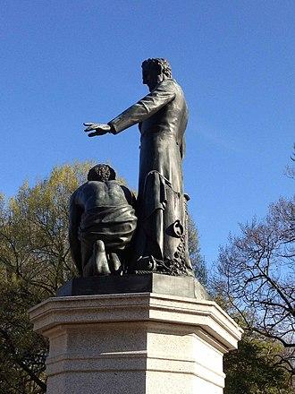 Emancipation Memorial - Emancipation Memorial in 2014