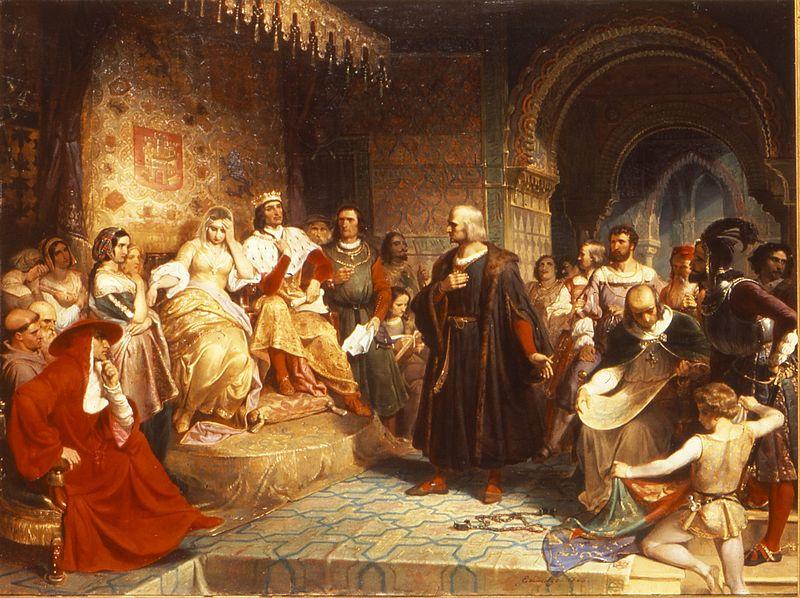 File:Emanuel Leutze (American, 1816-1868). Columbus before the Queen, 1843.jpg