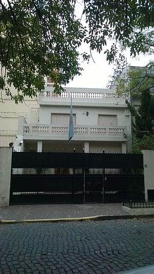 Foreign relations of the Arab League - Embassy of the Arab League in Buenos Aires, Argentina