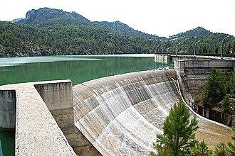 Las Villas - View of Aguascebas dam