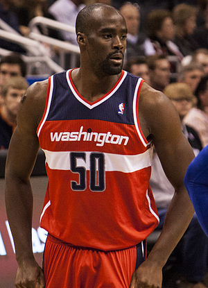 Emeka Okafor - Okafor during his tenure with the Washington Wizards