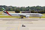 Emirates, A6-EPF, Boeing 777-31H ER (28382911391).jpg