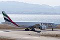 Emirates ,EK9734 ,Boeing 777-F1H ,A6-EFN ,Departed to Los Angeles ,Kansai Airport (16635769636).jpg