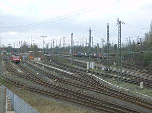 Emmerich station - Image: Emmerich Yard