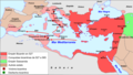 Empèri Bizantin - Rèine de Justinian.png
