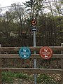 Empire State Trail sign and other trail signage.jpg