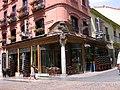 Encantadora fachada en el casco viejo de la ciudad de León.JPG