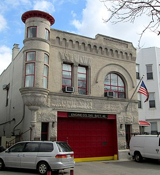 Windsor Terrace, Brooklyn - Image: Engine Company 240 Battalion 48 Windsor Terrace