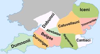 Former kingdom in southwestern Britain