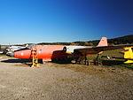 English Electric Canberra B-2 seen at the Internationals Luftfahrtmuseum Manfred Pflum at Schwenningen pic2.JPG