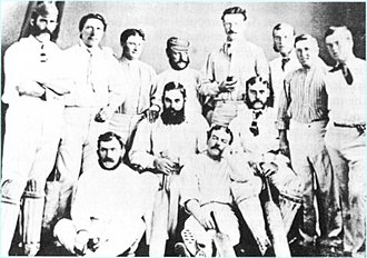 History of the England cricket team to 1939 - The 1873/4 team.
