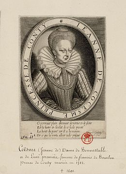 Engraved portrait of Jeanne de Coesme, Princess of Conti.jpg