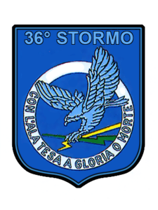 Ensign of the 36º Stormo of the Italian Air Force.png