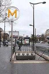 Porte Dor 233 E M 233 Tro Paris Wikipedia