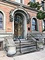 Entrance, Goucher House (1892, Stanford White), 2313 Saint Paul Street, Baltimore, MD 21218 (34952503686).jpg