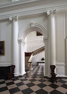 Entrance hall and staircase castletown house.jpg
