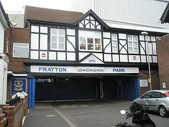 Fratton Park - Fratton Park main entrance.