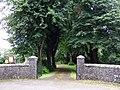 Entrance to Llandyfriog church and old school - geograph.org.uk - 922919.jpg
