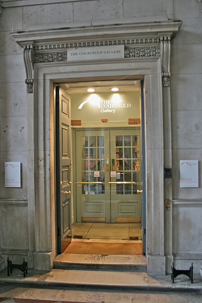 File:Entrance to the Courtauld Gallery.jpg