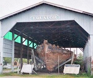 Equator (schooner) - Image: Equator schooner