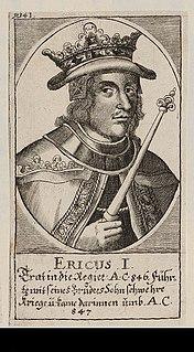 Horik I King of the Danes
