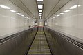 Escalator to Wirral Line, Liverpool Central station.jpg