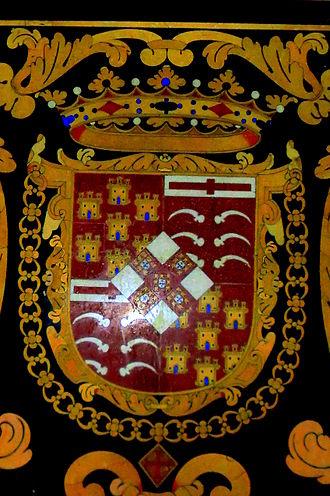 Corte-Real family - Image: Escudo marques Castelo Rodrigo
