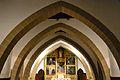 Església del Sagrat Cor del palau ducal de Gandia, arcs.JPG
