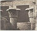 Esneh (Latopolis), Construction Ensablée - Architrave, Fûts et Chapiteaux MET DP144509.jpg