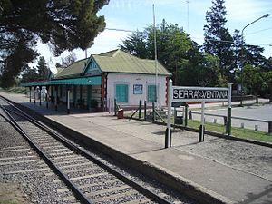 Sierra de La Ventana (town) - Railway station