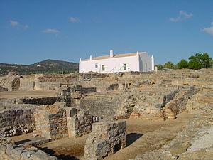 Estoi - A view of the ruins of Milreu