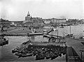 Eteläsatama, veneitä Kolera-altaassa - N577 (hkm.HKMS000005-0000013i).jpg