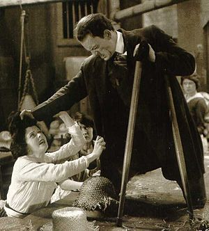 Lon Chaney - Ethel Grey Terry and Lon Chaney in The Penalty (1920)