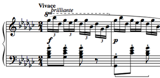 Étude Op. 10, No. 5 (Chopin) composition for piano by Frédéric Chopin