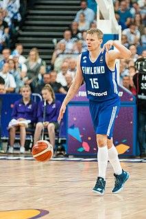 Teemu Rannikko Finnish basketball player