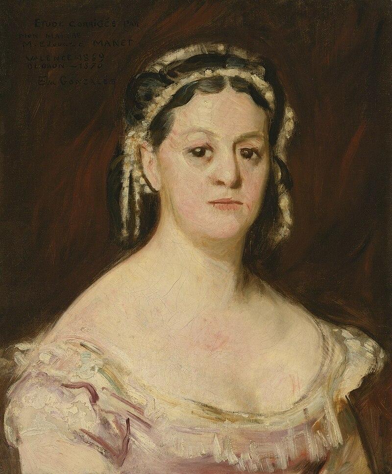 Ева Гонсалес - Женский портрет (CR 16) .jpg