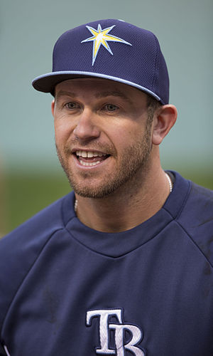 Evan Longoria - Longoria with the Tampa Bay Rays in 2014