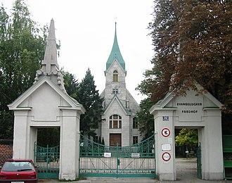 Vienna Central Cemetery - Image: Evangelischer Friedhof