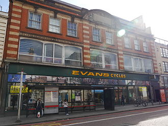 Evans Cycles - Evans Cycles, Wandsworth High Street, London