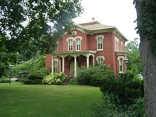 Everel S. Smith House house in Westville, Indiana
