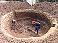 Excavations for a biogas digester in Libuyu (6593070211).jpg
