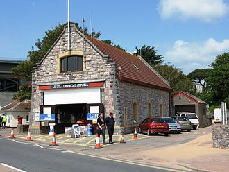 Exmouth Lifeboat Station - The 1859 station