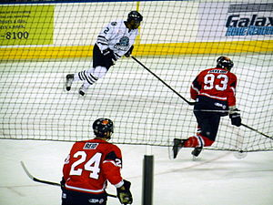 Kalamazoo Wings - Image: Express vs. K Wings