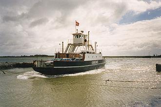Venø - The ferry to Venø