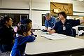 FEMA - 40066 - FEMA individual assistance worker helps a family in Washington.jpg
