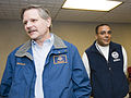 FEMA - 40781 - John Hoeven and Tito Hernandez at Fargo, ND Press Conference.jpg