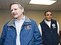 FEMA - 40781 - John Hoeven and Tito Hernandez at Fargo, ND Press Conference.jpg