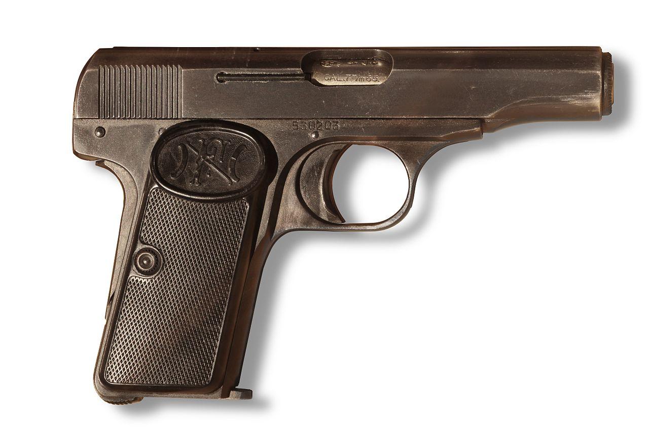 Dating Browning pistoler